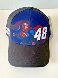 NASCAR Jimmie Johnson SUPERMAN Hat Hendrick Motorsports #48 Cap