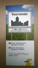 De Lijn - folder buslijn 68/69 - Oostende - Nieuwpoort - Veurne (2009)