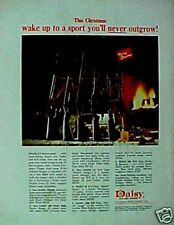 1967 Daisy BB Pump Gun Air Rifle Christmas Sport Toy Promo AD