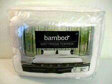 Zen Bamboo Ultra Soft Bamboo Mattress Topper - Premium Hypoallergenic, Twin XL =