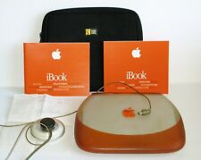 Apple iBook Clamshell G3 1999-TANGERINE, Excellent Working condition, OSX+OS9