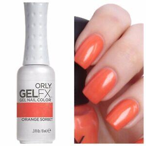 ORLY-Gel FX-ORLY-Color:   Orange Sorbet