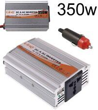 Inversor de corriente coche 12V DC a 220V AC 350W USB Convertidor Conversor