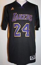 NEW Kobe Bryant Los Angeles Lakers Hollywood Nights Black Swingman Jersey 2XL