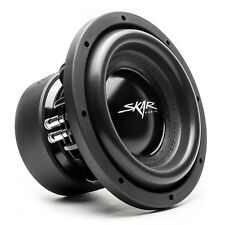 NEW SKAR AUDIO EVL-10 D2 2000W MAX POWER 10-INCH DUAL 2 OHM SPL/SQ CAR SUBWOOFER