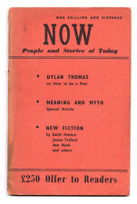 Now Vol 1 non 2 Dylan Thomas Ann NASH Edith Hankin Peter gris Jimmy Dugan
