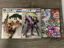 IDW G.I. JOE : VOLUME 3 #8 : ALL COVERS BUNDLE : NM
