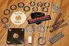 Gibson Les Paul Hardware Set Nut Washer Screw Spring Tip Creme SG Guitar Parts photo