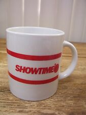 Showtime Show Time Cable Movie Channel Television TV Coffee Mug Cup