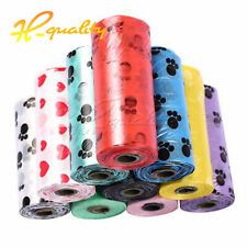 10 Rolls/150PCS Bag Dog Pet Waste Poop Refill Core Pick Up Clean-Up Bags