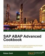SAP ABAP Advanced Cookbook by Rehan Zaidi (2012, Paperback, New Edition)