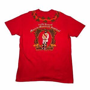 1991 Vintage HAWAII MERRIE MONARCH HULA FESTIVAL Mens T Shirt XL Single Stitch
