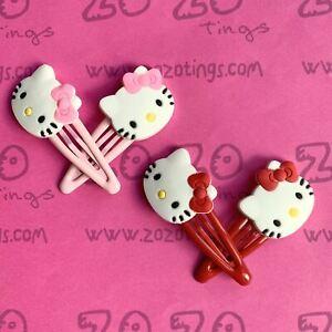 Hello Kitty Snap Hair Clips