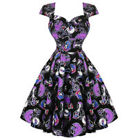 Hell Bunny Graciela Halloween Skeleton Day of the Dead Retro Vintage 1950s Dress