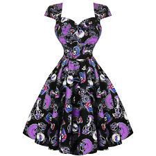 Hell Bunny Graciela Halloween Skeleton Day of the Dead Retro Vintage 1950s Dress