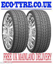 2X Tyres 295 40 R20 106V Nexen / Roadstone Roadian HP H/P M+S E B 75dB
