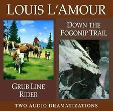 Louis L'Amour: Grub Line Rider - Down the Pogonip Trail by Louis L'Amour (2003,