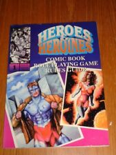 HEROES & HEROINES #1 COMIC BOOK ROLE PLAYING GAMES RULES GUIDE US MAGAZINE =