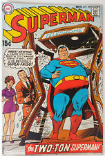 Superman #221 Silver Age DC Comics F+