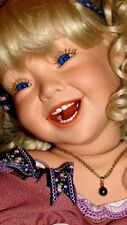 "DAWN ADAMS ""JOY"" PORCELAIN DOLL GORGEOUS....OOAK... 24"" RARE!!!!!!!!"
