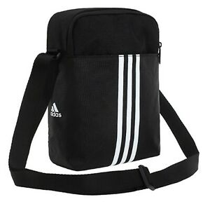 Adidas PLTORG 3 Organizer Bags Messenger Black Bag Cross Casual GYM Sack FM6881