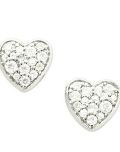 Fossil Ladies Earring JFS00151040 Silver Brand New With Fossil Gift Box