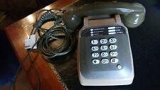 Socotel - Téléphone industriel et commercial des P.T.T - Vintage Marron 1981