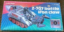 Vintage Radio Shack Z-707 Battle Iron Claw Radio Controlled Tank Runs Great!