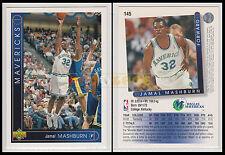 NBA UPPER DECK 1993/94 - Jamal Mashburn # 145 - Mavericks - Ita/Eng - MINT