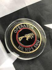 Heckler & Koch HK MP5 SMG OPERATOR ITD Challenge Coin SPK5 VP9 HK45 Mark23 USP