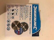Silverline 604320 Mini Saw Blade Set 3pce85mm Dia - 15mm Bore