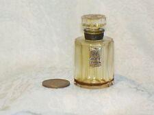Vtg MINI empty Perfume SORTILEGE BOTTLE Glass Stopper Le Galion FRANCE Miniature