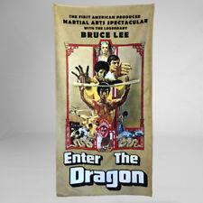 Bruce Lee Enter The Dragon Huge Bath Towel Hans Island Tournament Movie Retro