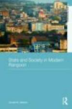 State and Society in Modern Rangoon by Donald M. Seekins (2010, Hardcover)