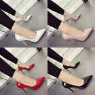 Fashion Women Deep Stiletto Pointed Toe Shoes Lady Shallow High Heels Pumps Shoe