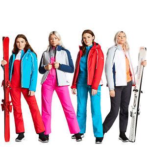 Dare 2B Womens Comity Waterproof Warm Breathable Zip Up Ski Jacket Outdoors Coat
