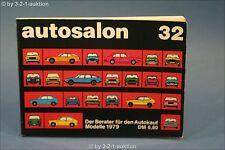 Autosalon in Buchform Nr. 32 Alle Modelle von 1979 Auto Katalog