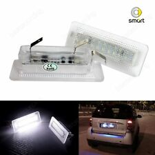 Benz Smart Fortwo 451 2007-15 LED License Number Plate Light Lamp White No Error