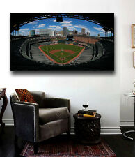Camden Yard Gorgeous Canvas Print - Large 36 x 24 Baltimore Orioles Stadium