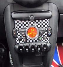 Consola Central Uso Checkered Flag para Mini Cooper R55 Clubman R60 Countryman