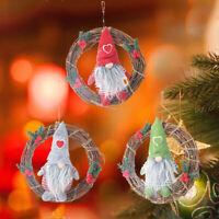 Christmas Santa Claus Gnome Doll Scandinavian Ornament Plush Toy Gift Decor