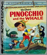Pinocchio And The Whale  - 1972 - Little Golden Book