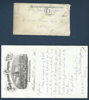 1871 HOUSE OF REPRESENTATIVES COVER WITH LETTER LEWIS D. CAMPBELL, FREE POSTMARK