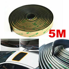 5M Rubber Seal Strip Trim For Car Front Rear Windshield Sunroof Weatherstrip