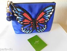 New Kate Spade - On Purpose Beaded Butterfly Clutch Minaudiere Bag