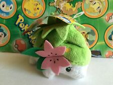 Pokemon Plush Shaymin 2009 Jakks legit doll figure stuffed animal Bean Bag toy