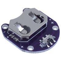 2 X Knopf Zellen Batterie Halter Für Cr2032 - Mit Schalter (2 Stück) O8C2 VG