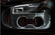 ABS Carbon Fiber Gear Shift Panel Trim Cover For Chevrolet Equinox 2018-2019