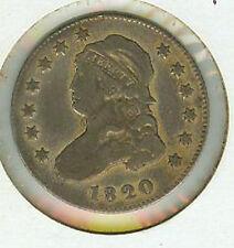 Scarce 1820 Bust Quarter