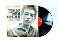 """Bob Dylan """"The Times They Are A-Changin"""" COLUMBIA LP Stereo CS 8905 VG"""